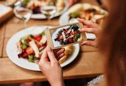کاهش وزن - عکس گرفتن از غذا